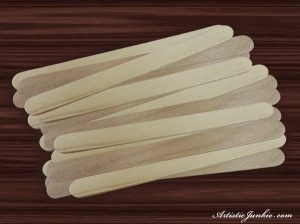 Popsicle Stick Frame Picture 1