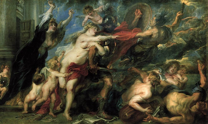 Consequences of War by Peter Paul Rubens