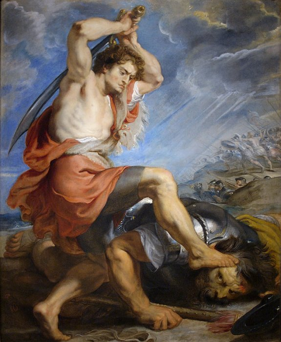 Peter Paul Rubens David Slaying Goliath