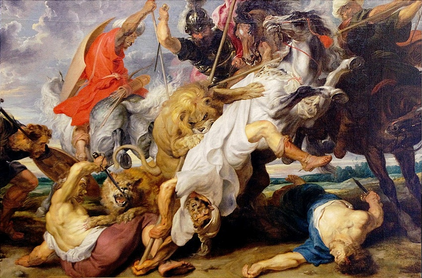 Peter Paul Rubens Lion Hunt