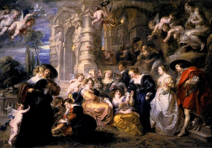 Peter Paul Rubens Painting Garden of Love