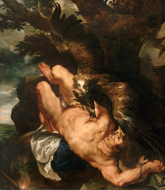 Prometheus Bound Peter Paul Rubens