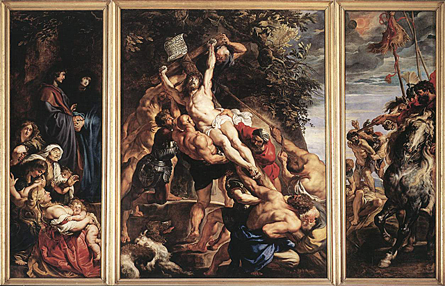 The Elevation of The Cross Peter Paul Rubens