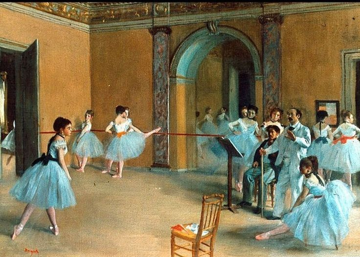 The artistic style of edward degas a world renowned artist