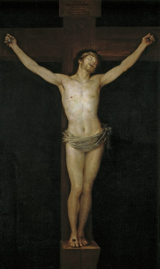Christ Crucified Francisco Goya Artwork