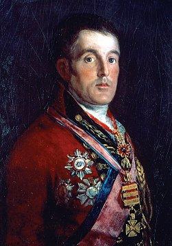 Portrait of Duke of Wellington Painting by Francisco de Goya