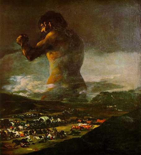 The Colossus De Goya Paintings
