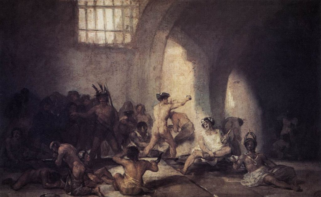 The Madhouse Francisco Goya Art