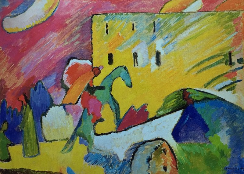 Blue Rider Kandinsky Famous Paintings