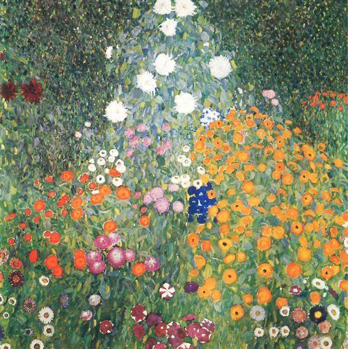 Blumengarten Gustav Klimt