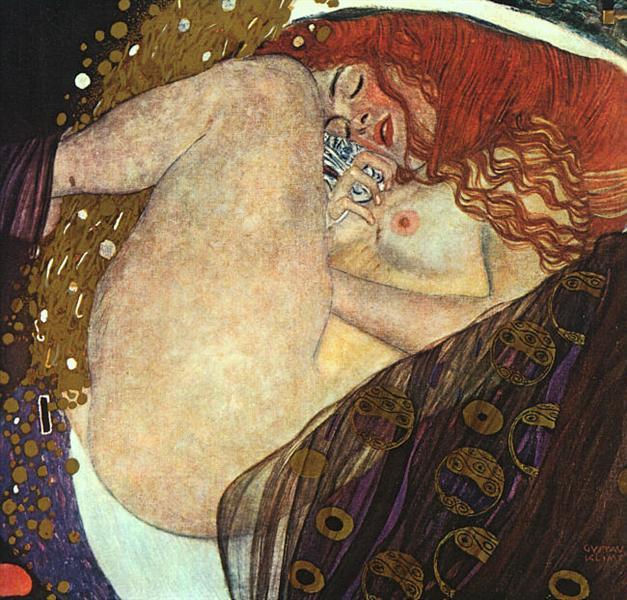 Danaë Klimt Artwork