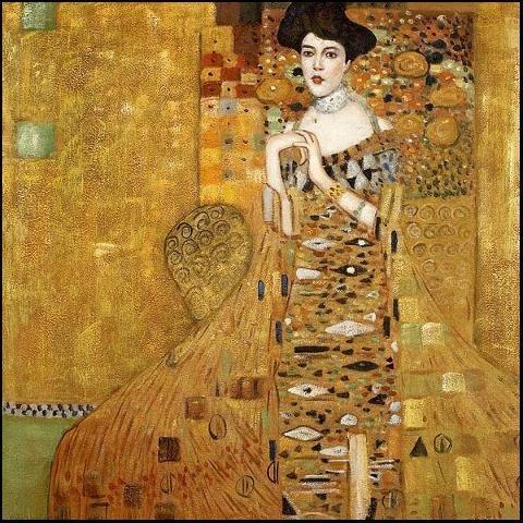 Gustav Klimt Adele Bloch Bauer Painting