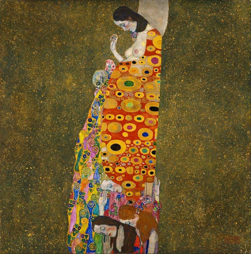 Gustav Klimt Hope II