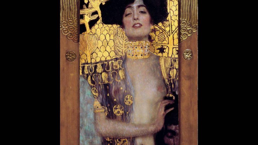 Gustav Klimt Judith Painting