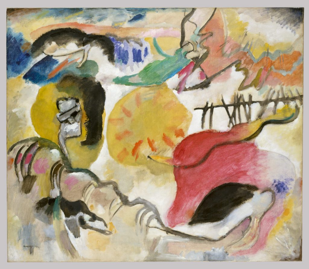 Improvisation 27 Painting of Kandinsky