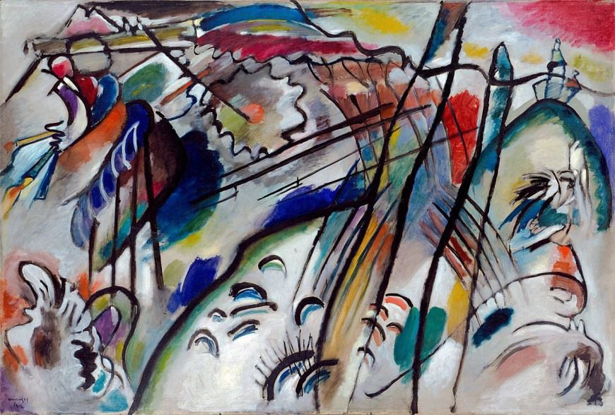 Improvisation 28 Most Famous Paintings of Kandinsky