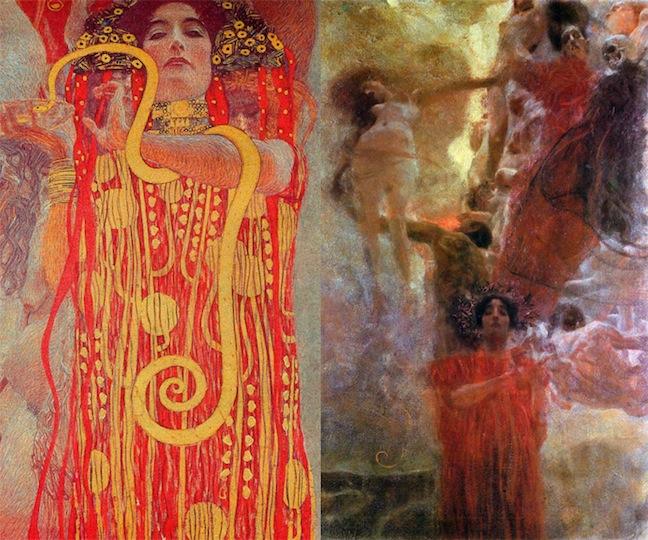 Medicine Klimt's Faculty Paintings