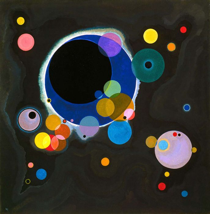 Several Circles Kandinsky Circle Painting