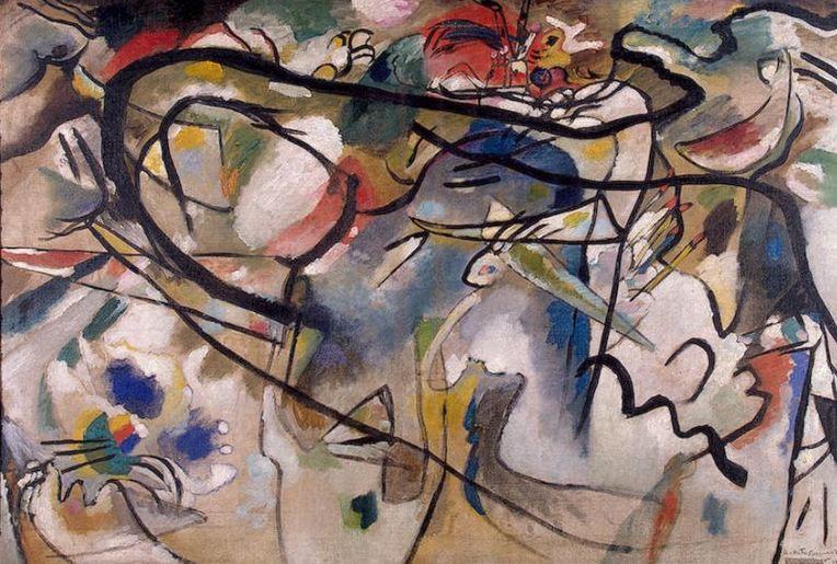 Wassily Kandinsky Composition V 1911