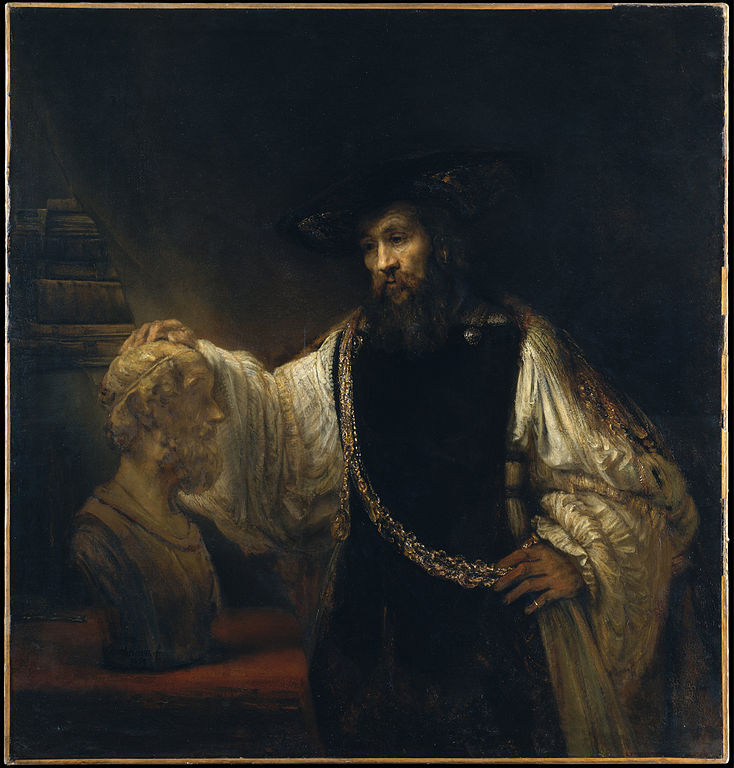 Aristotle with a Bust of Homer Rembrandt