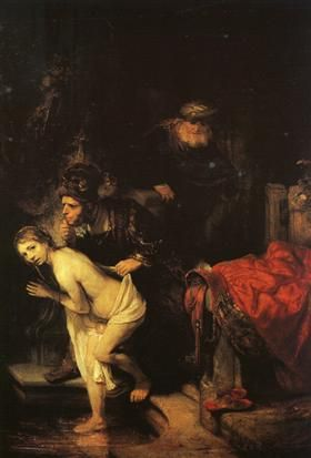 Susanna And the Elders Rembrandt
