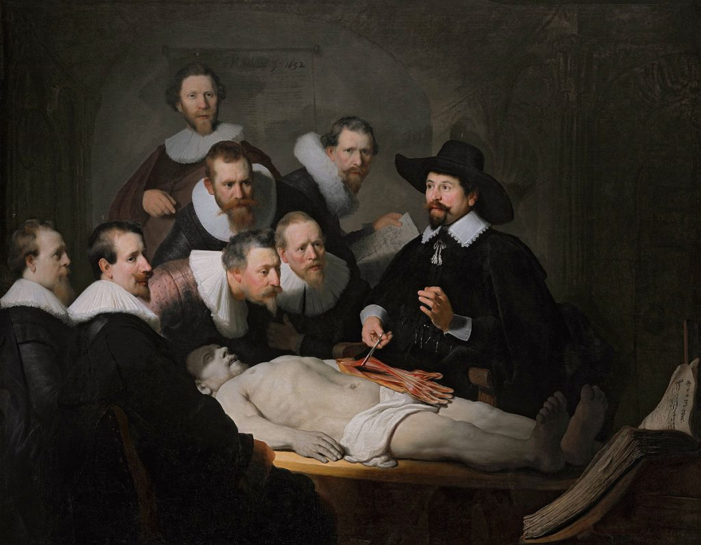The Anatomy Lesson of Dr. Nicolaes Tulp Painting By Rembrandt