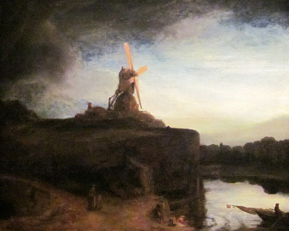 The Mill Famous Rembrandt Painting