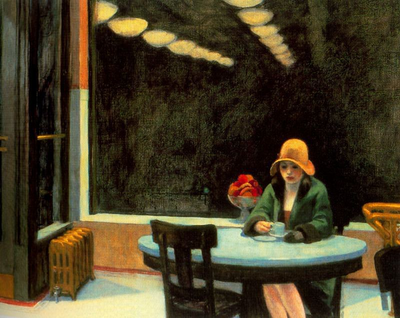 Edward Hopper Automat