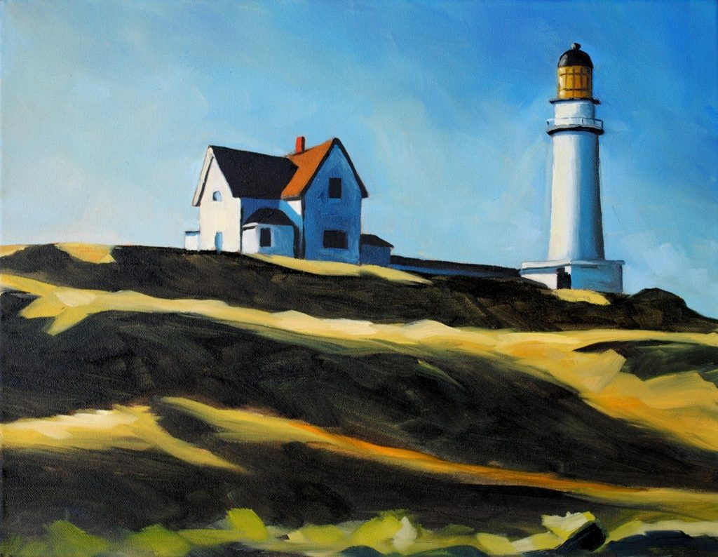 Edward Hopper Lighthouse Painting