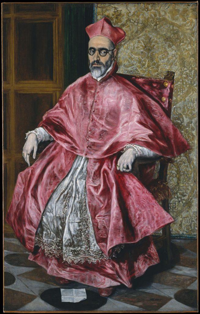 El Greco Cardinal Painting