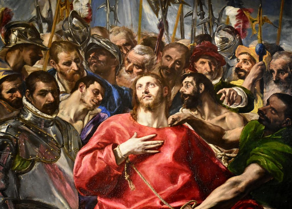 El Greco Paintings The Disrobing of Christ