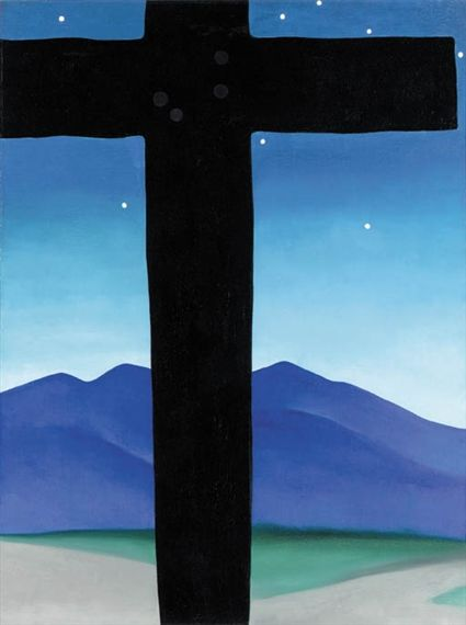 George O Keeffe Black Cross