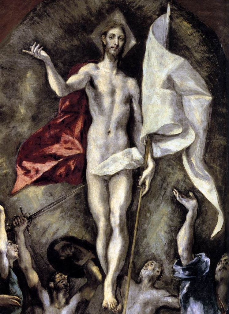 Resurrection Greco Painting
