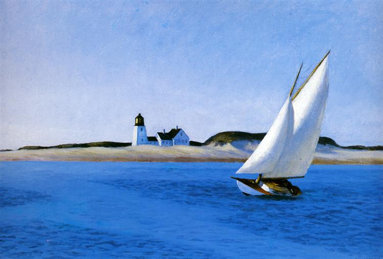 The Long Leg Edward Hopper Painting