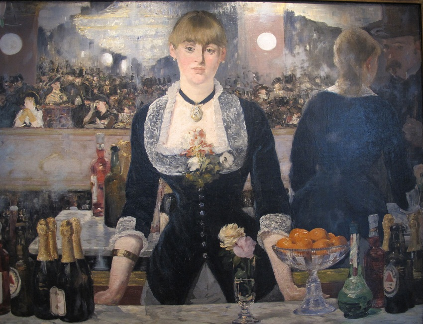 Édouard Manet A Bar at the Folies Bergere