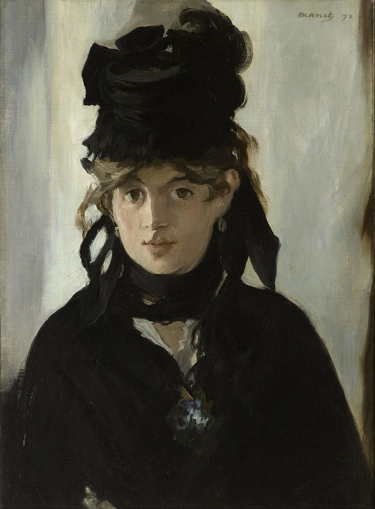 Manet Berthe Morisot Paintings