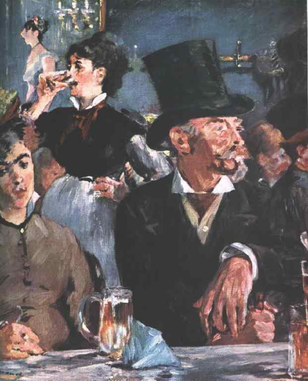 Manet Café Concert Painting