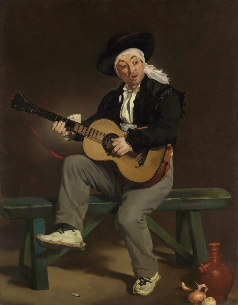 Manet The Spanish Singer