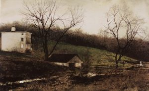 Andrew Wyeth Evening at Kuerners 1970