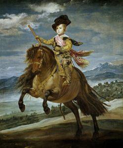 Diego Velazquez Boy on Horse Painting