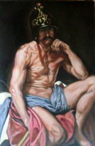 Diego Velazquez Mars Painting