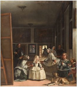 Diego Velazquez Paintings or Royal Family Las Meninas