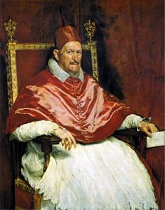 Diego Velazquez Pope Innocent X