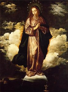 Immaculate Conception Diego Velazquez Painting