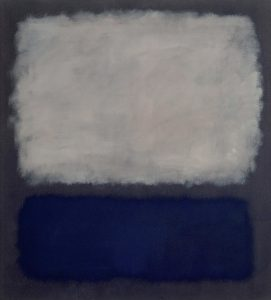 Mark Rothko Blue and Grey Paintings