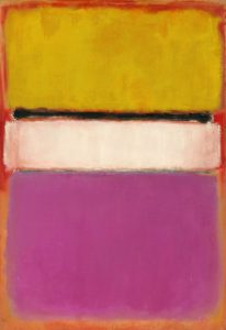 Mark Rothko White Center Painting