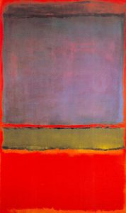 No.6 (Violet, Green and Red) Rothko's Painting
