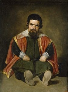 Portrait of Sebastián de Morra Paintings by Diego Velazquez