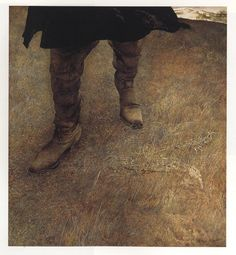 Trodden Weed Painting by Andrew Wyeth