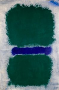 Untitled (Green Divided by Blue)